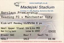 Billete Lectura v Manchester City 11.09.06