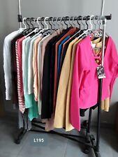 DESTOCKAGE VÊTEMENTS: Lot de 20 hauts tshirts blouses femme neufs revendeur L195