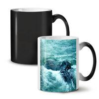 Rock Ocean Wild Nature NEW Colour Changing Tea Coffee Mug 11 oz | Wellcoda
