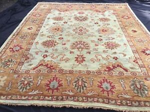 TAJ AGRA,  10' x 8', BRAND NEW,  HAND-KNOTTED, THICK, WOOL RUG...FREE DELIVERY.