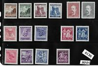 #6136   MNH stamp set / Regular postage  / WWII Germany Occupation / Third Reich