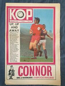 Liverpool FC  -  KOP Newspaper  -  November 8th 1967  -  Issue No 30