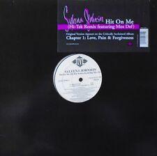 "SYLEENA JOHNSON - Hit On Me (HI-TEK MIX) ~ 12"" Single US PRESS PROMO"