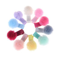 5x Mixed FOT Yarn Ball Hair Clip Baby Hairpins Girls Clips Diy Hair Accessor FO