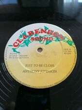 Anthony Johnson Just be Close b/w Carendon Sound All Star Reggae 12 inch