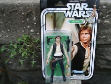 STAR WARS THE BLACK SERIES 40TH ANNIVERSARY HAN SOLO 6'' FIGURE BRAND NEW AND SE