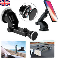 Retractable Magnetic Car Dash Mount Dock Window Holder Universal Mobile Phone UK