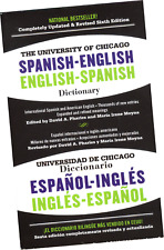 DICCIONARIO ESPAÑOL-INGLÉS E INGLÉS ESPAÑOL. THE UNIVERSITY OF CHICAGO, 6TH. ED.