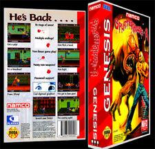 Splatterhouse 3 - Sega Genesis Reproduction Art Case/Box No Game.