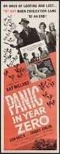 Panic In Year Zero Movie Poster Insert #01 Replica