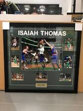Isaiah Thomas Signed & Framed Collage