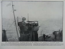 1915 BATTLE OF DOGGER BANK BEATTY NEW FLAGSHIP TORPEDO-BOAT HMS ATTACK WWI WW1