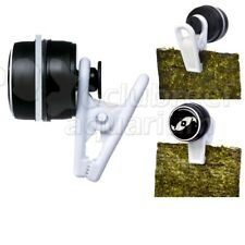 VeggieMag Seaweed Fish Food Feeding Magnet Aquarium Veggie Clip TLF
