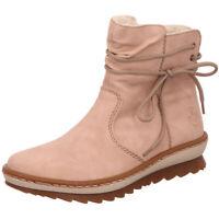 Rieker Antistress Damen Schuhe Stiefel Stiefelette Boots Z8653-33 rose rosa