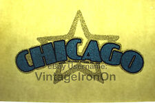 70s Chicago CLASSIC rock band concert peter cetera Orig VTG t-shirt iron-on NOS