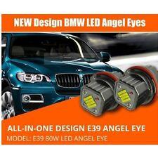 LED Angel Eyes Light 80W CREE All in One fit BMW E39 E60 61 63 64 E65 66 E83 E53