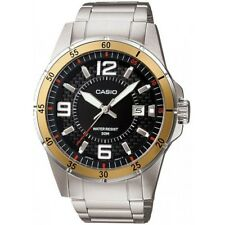 Casio MTP1291D-1A3 Men's 50M Analog Watch Band Black Dial