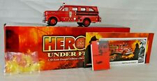 "Corgi #US50504 ""Detroit MI"" Segrave Sedan Pumper Fire Truck 5 5/8"" Long NM W/Box"