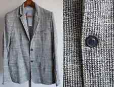 New BNWT mens ZARA sz Medium jacket blazer white navy