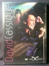 David Cassidy - Live In Concert (DVD, 2004) Factory sealed rare first class ship