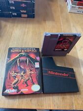 NES Swords And Serpents In Box Clean