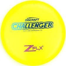 New Day Glow Elite Z Flx Challenger Putter 172g Discraft Disc Golf Blue Stamp