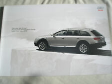 Audi A6 Allroad brochure May 2009