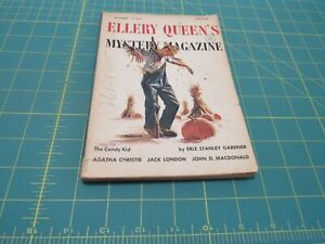 ELLERY QUEEN'S MYSTERY MAGAZINE   11 /1954   PULP ERA DIGEST