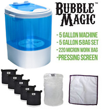 5 Gallon Bubble Magic Washing Machine + Ice Hash Extraction 5 Bags Kit
