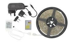 LED Luce Nastro con doppio colore DIY LED 5M CUCINE AUTO CAMION CAMPER ETC Remot