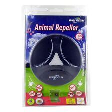 Weitech Ultraschall Tiervertreiber - zum Schutz von Mülltonnen, Garten, Garagen