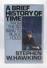 A Brief History of Time - Stephen Hawking First Edition 1st State Silver Jacket