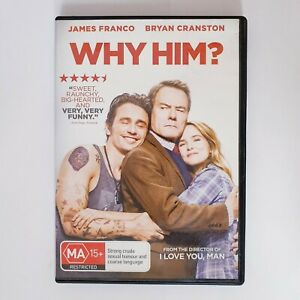 Why Him? Movie DVD Region 4 AUS Free Postage - Comedy