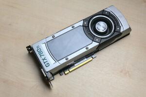 Gigabyte Nvidia Geforce GTX 780 Ti 3GB DVI HDMI Display Port Reference
