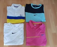 Nike Rafael Nadal Tennis Training Federer Shirt Gr M gebraucht 4x Nadal