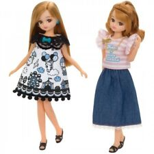 [Psl] Takara Tomy Lw-18 Licca Doll Dress Cute & Casual Set (Doll Not Included)