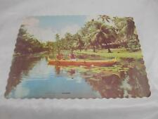 Old Vtg 1983 COCO PALMS HAWAII Placemat Advertising Paper Collectibles Place Mat