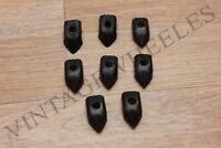 LAMBRETTA GP/DL FLOOR RUNNER END CAPS BLACK PLASTIC . BRAND NEW