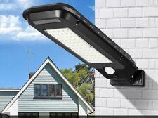 Faro lampione stradale pannello solare fotovoltaico sensore 60 LED SMD T-210B