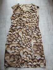 M&Co Sleeveless COCKTAIL Party Dress CHOCOLATE Amber UK 18 Chiffon NEW RRP £85