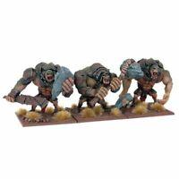 Mantic Games Kings of War Troll Regiment x3 (WHFB stone river chaos golem Orc)