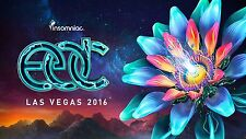 Electric Daisy Carnival Set Collection 2016 on 3 x DVDs in MP3 Format EDC Vegas