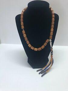 Bakelite prayer beads barrel 47g- 13X9 mm - 33 beads + Imam - very nice - tested