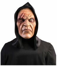 Mask Hooded One Eye Vinyl Mens Ghoul Scary Adult Halloween Costume Accessory