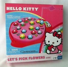 New Sealed Hello Kitty Let's Pick Flowers Game for 1-4 players Age 4+ by Sanrio