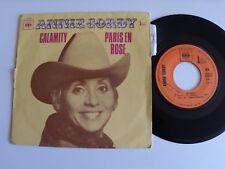 "ANNIE CORDY : Calamity (Jane) / Paris en rose 7"" 45T SP CBS 5356 Hubert Rostaing"