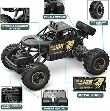NEW Electric RC Cars 4WD Monster Truck Off-Road Vehicle Remote Control Crawler