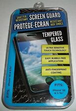 Premium Shatter Resistant Tempered Glass Screen protector for Iphone 5 5s & SE