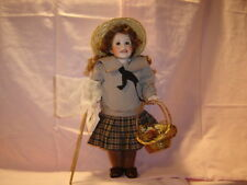 """Wendy Lawton 14"""" All Full Porcelain Girl of the Limberlost Mib"""