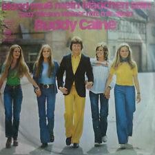 """7"""" 1972 VG+++ ! BUDDY CAINE Blond muß mein Mädchen sein"""